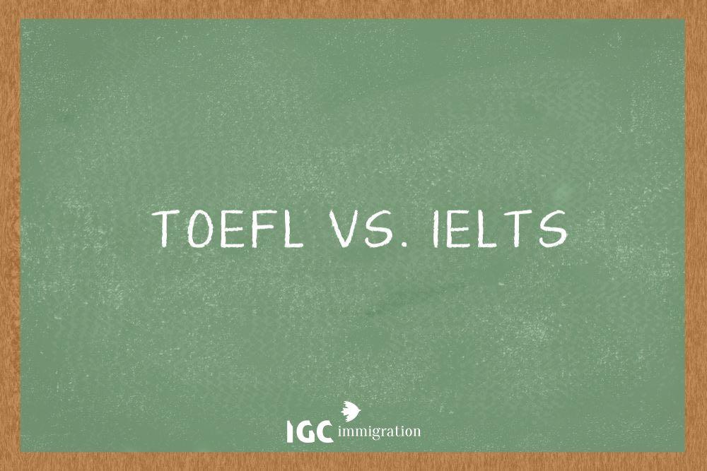 IELTS hay TOEFL