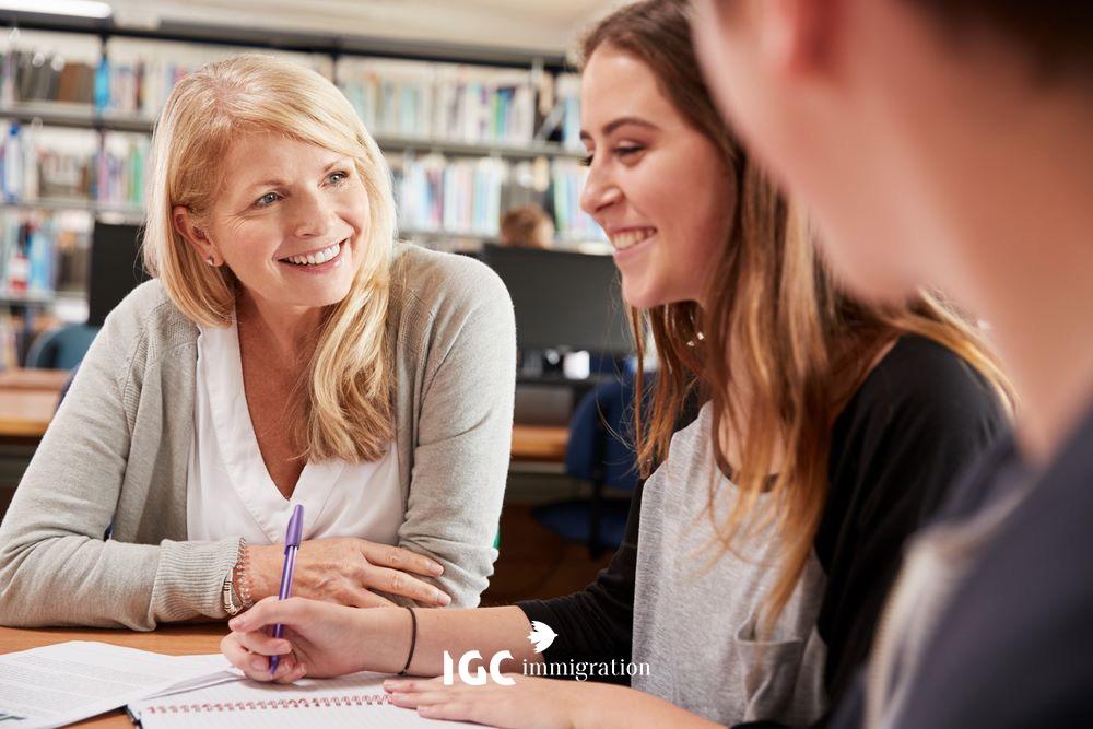 yêu cầu về người giám hộ khi du học tại canada nếu trẻ dưới 18 tuổi