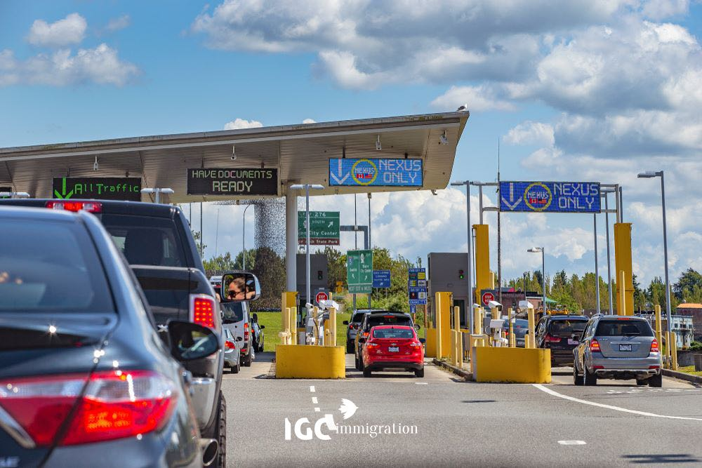 đường biên giới mỹ và canada
