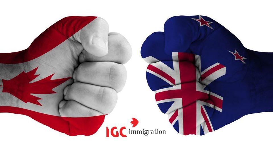 So sánh du học Canada hay New Zealand nơi nào tốt hơn