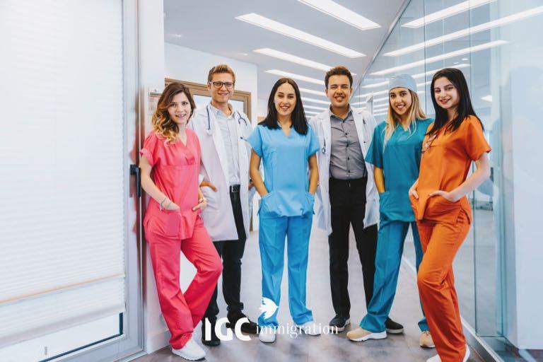 việc làm khi du học Canada ngành y