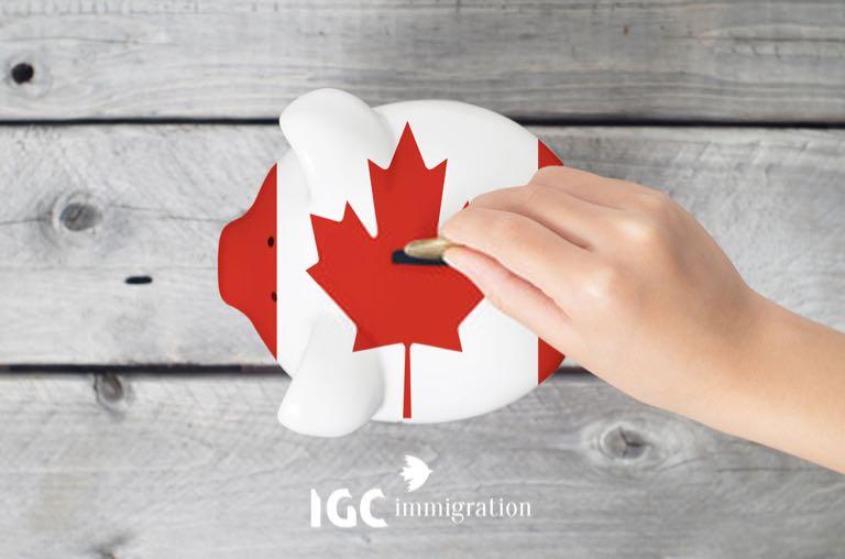 du học Canada diện chứng minh tài chính