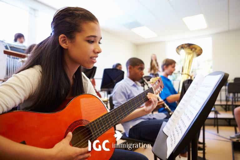 kiểm tra đầu vào ngành âm nhạc khi du học Canada