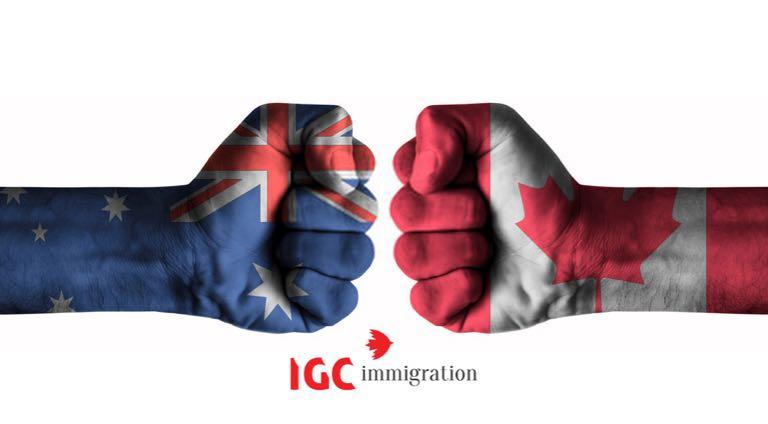 du học Canada hay Úc tốt hơn