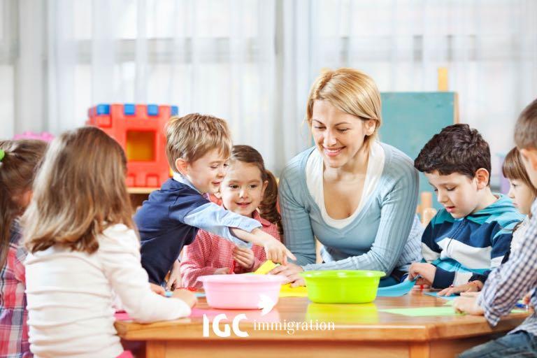 nghề giáo viên mầm non ở Canada