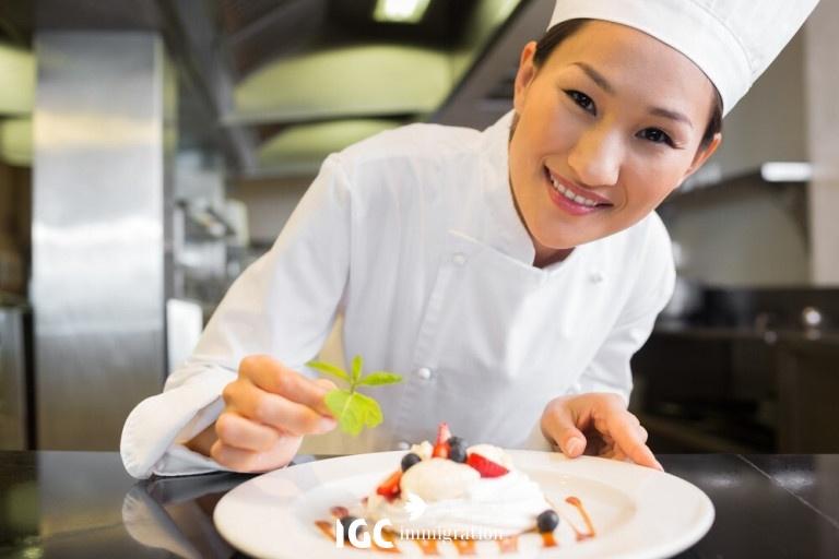 nghề đầu bếp rất có tương lai