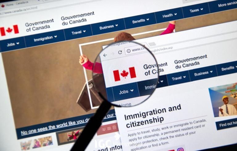 trang web chính phủ canada